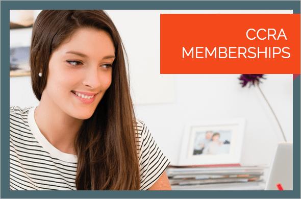 CCRA<br>Memberships