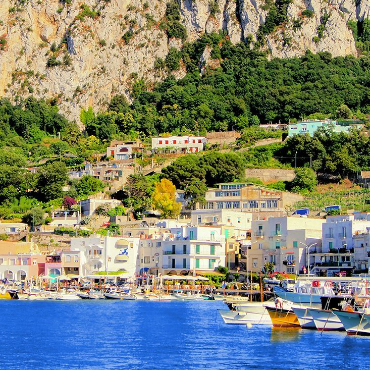 Tour Italy Rome, Amalfi Coast and the Island of Capri