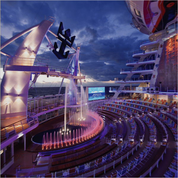 Crucero de estilo<br>Allure of<br> the Seas®