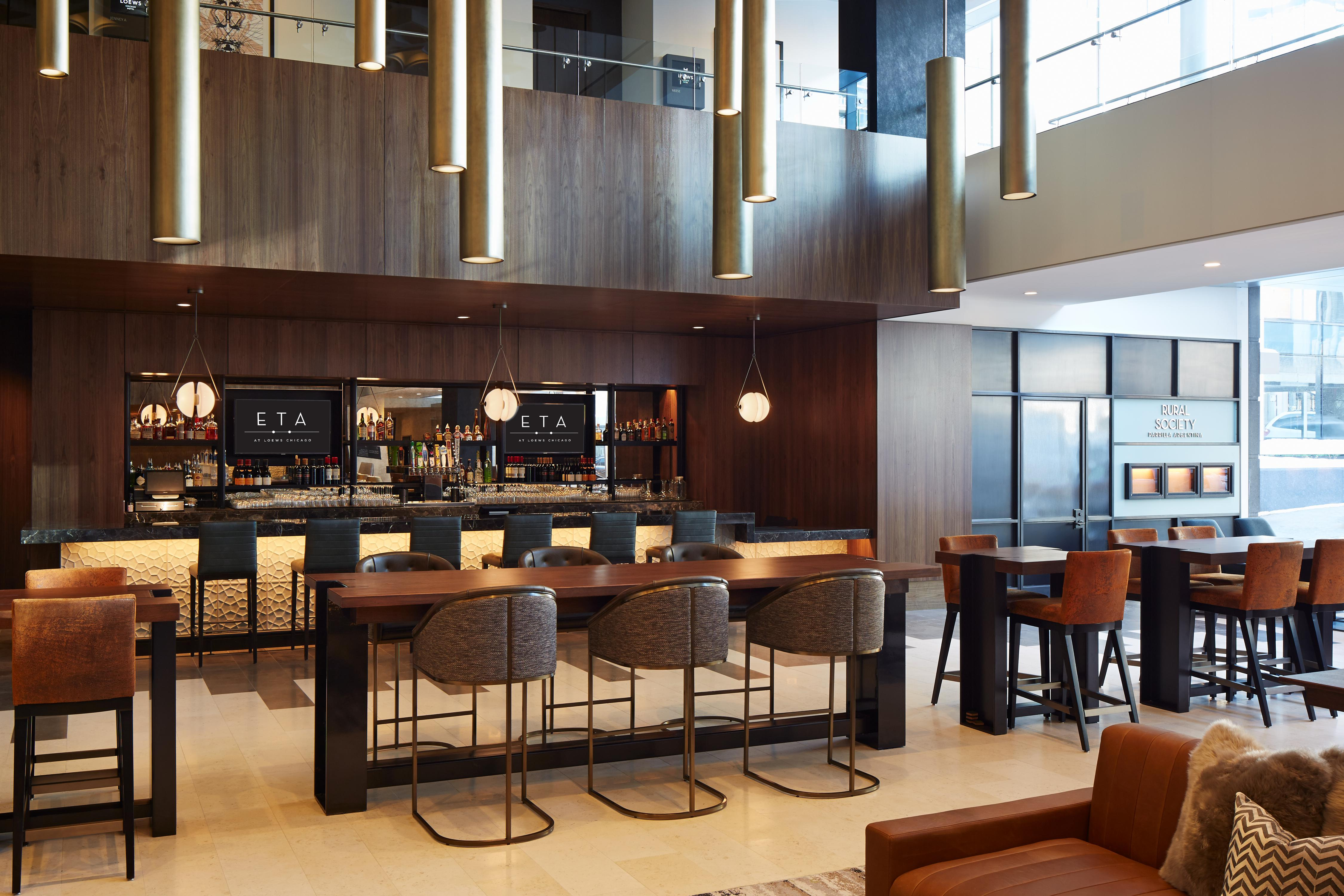 Loews Chicago Hotel Bar