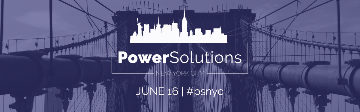 PowerSolutions LIVE New York City June 16 #psnyc