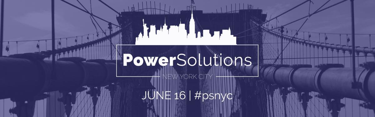 PowerSolutions LIVE New York City June 16 #psnyc