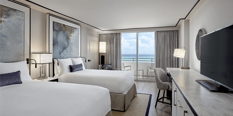 Loews Miami Beach Hotel Guest Room