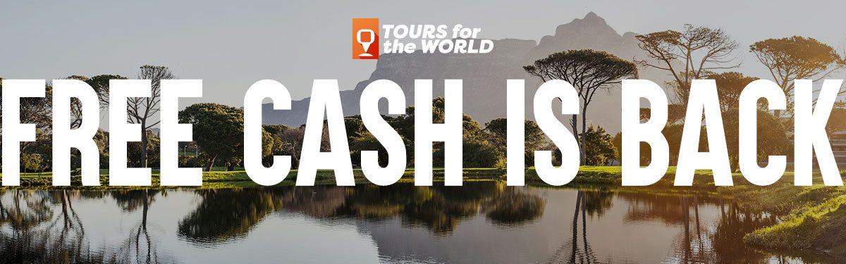 Tours for the World Free Cash is back