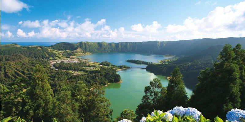 Beautiful Azores Lake