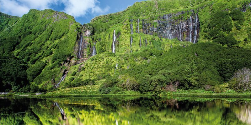 Beautiful Azores landscapes