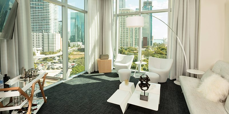Atton Brickell Miami Skyline Suite