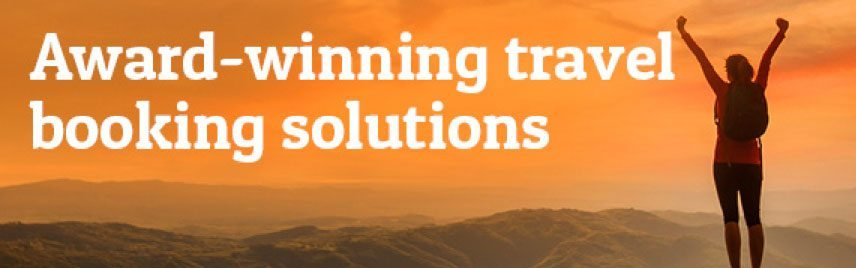 Award-winning travel booking solutions