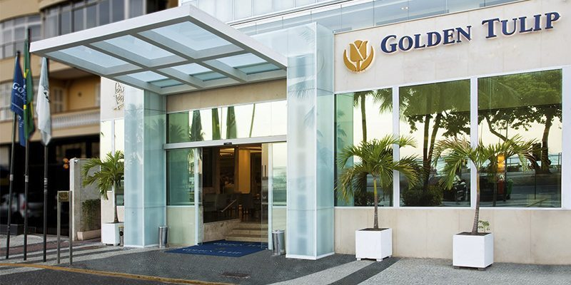 Hotel Golden Tulip Rio Copacabana Entrance