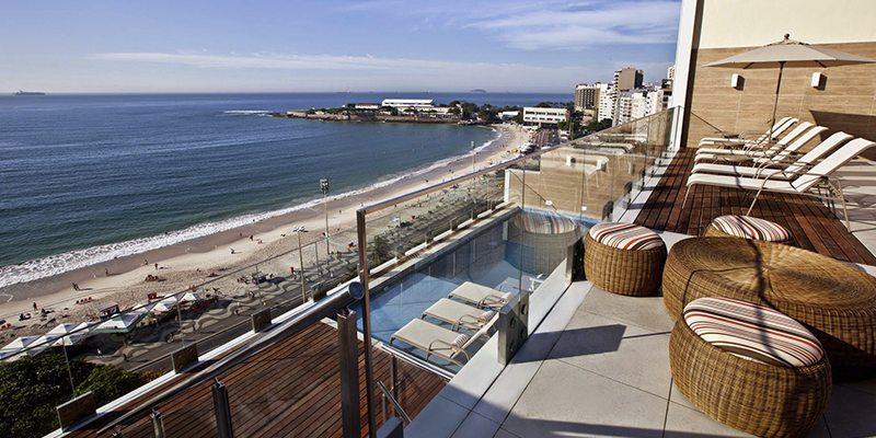 Hotel Golden Tulip Rio Copacabana view