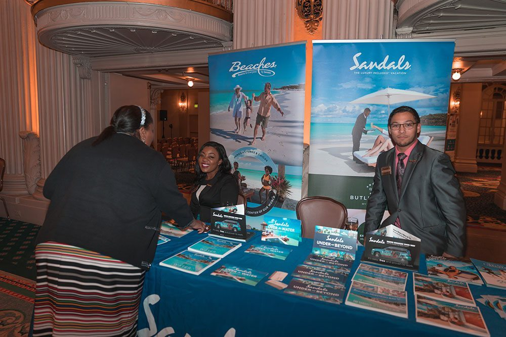 Sandals at PowerSolutions Los Angeles