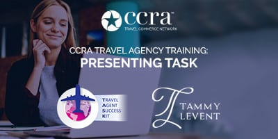 CCRA Travel Agency Training: Presenting TASK